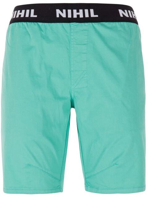 Nihil Praia Shorts Women Green Wave